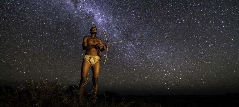 Kalahari Plains in Botswana by Dana Allen