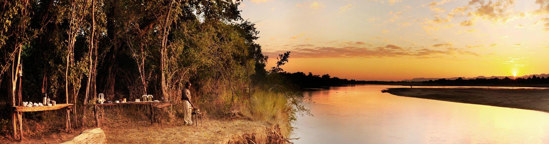 Zambia Safari Bilimungwe Breakfast spot