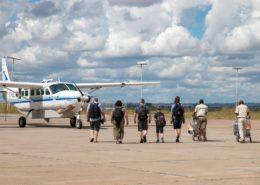 Custom Designed Safaris Plane