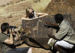 Doro Nawas Rock Art Namibia