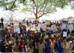 Ecotourism School supplies hand out Mtshayeli School