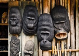 Gorilla Wood Carvings