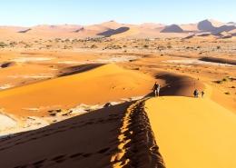 Hiking Namibias Sand Dunes