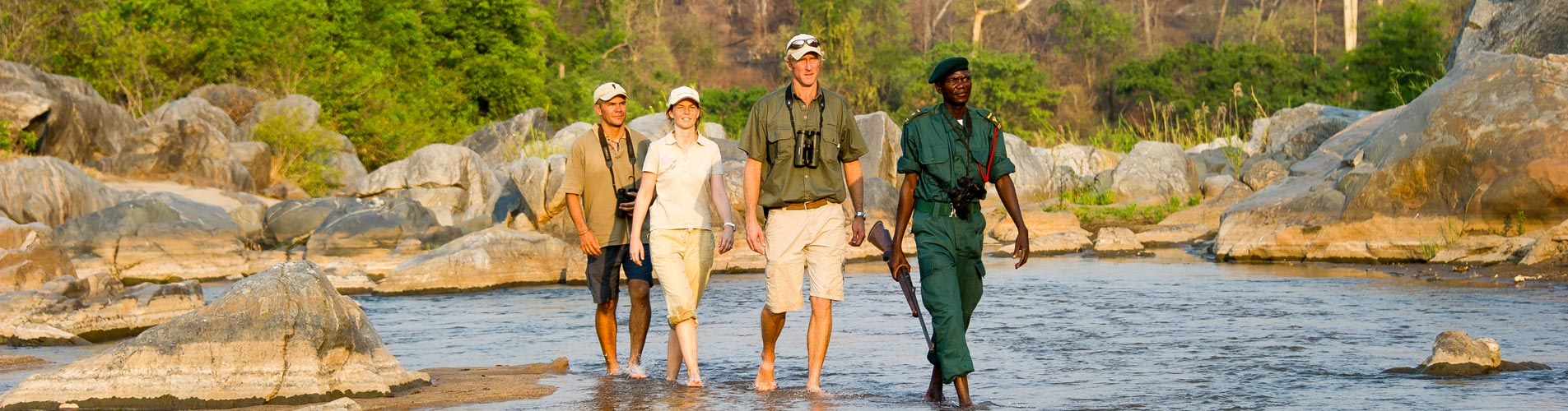 Malawi Safaris Majete Reserve Walking Safari