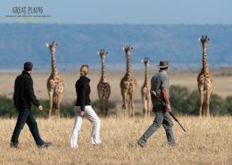 Mara Plains Kenya Walking