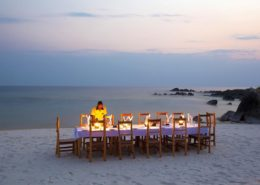 Mozambique Beach Dinner