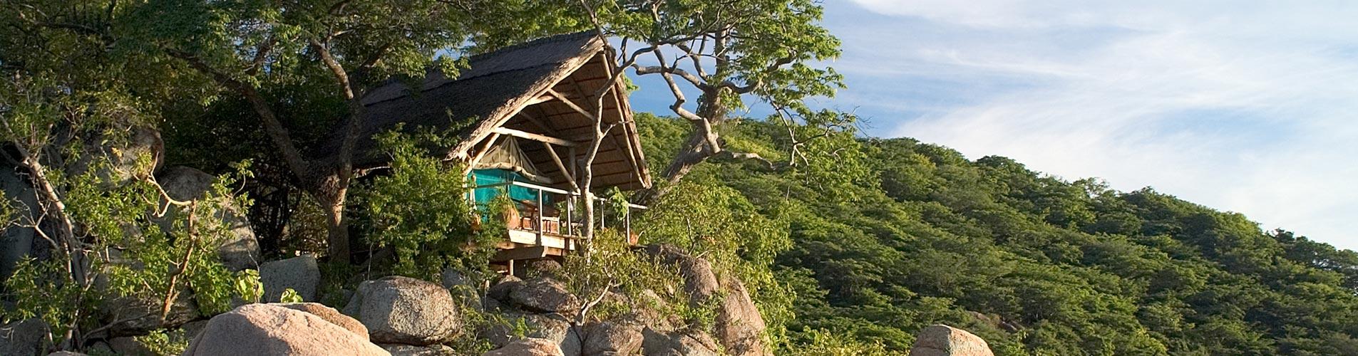 Malawi Safaris Mumbo Island Tent