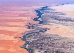 Namibia Desert Aerial
