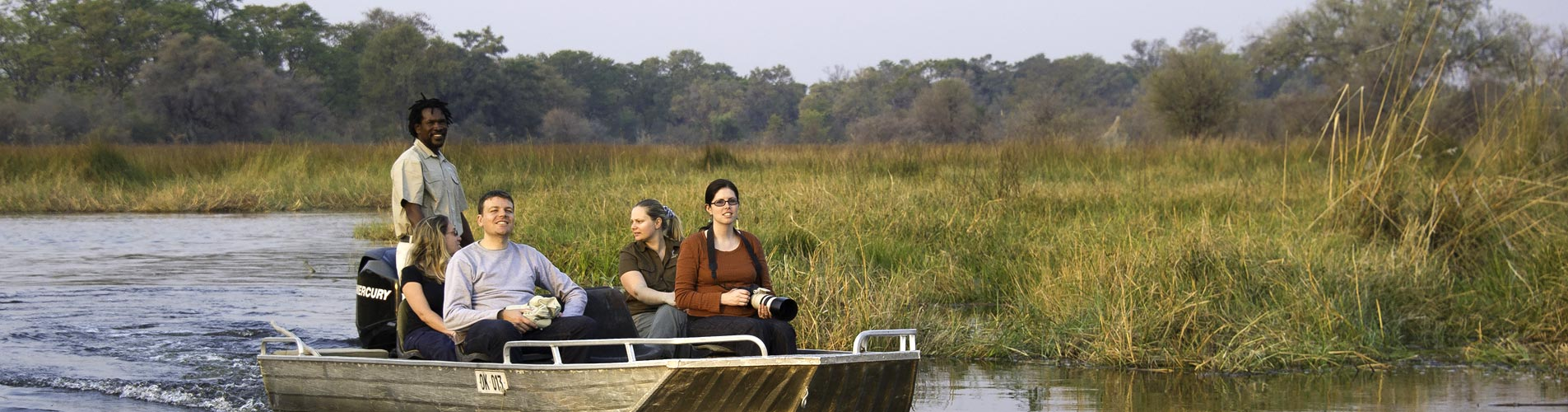 Okavango Boat Escorted Safari