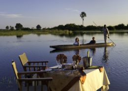 Private Dinner In The Okavango