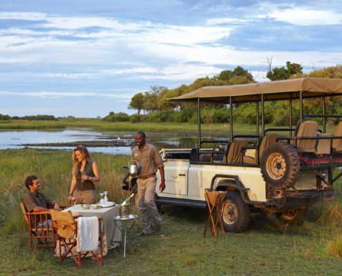 Custom African Safari Private Sundowners