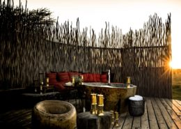 Romantic Outdoor Bath at Segera