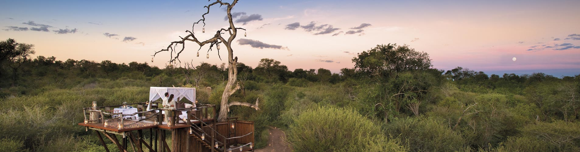 Custom Safaris, Romantic Treehouses
