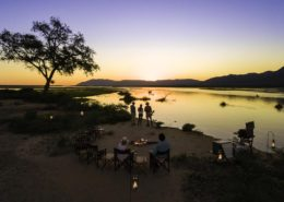 Sunset in the Zambezi