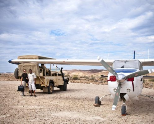 Namibia Travel Tips Desert Flying